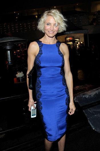 Cameron Diaz at The Weinstein's Company Party