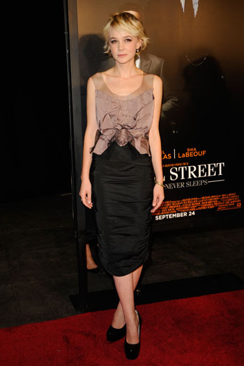 Wall Street: Money Never Sleeps premiere, New York, 2010