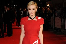 Carey Mulligan recycles Roland Mouret, Michael Fassbender pioneers the shiny/crumpled suit