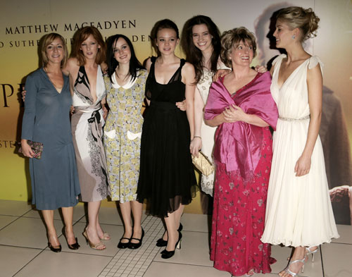 Pride and Prejudice UK premiere, 2005