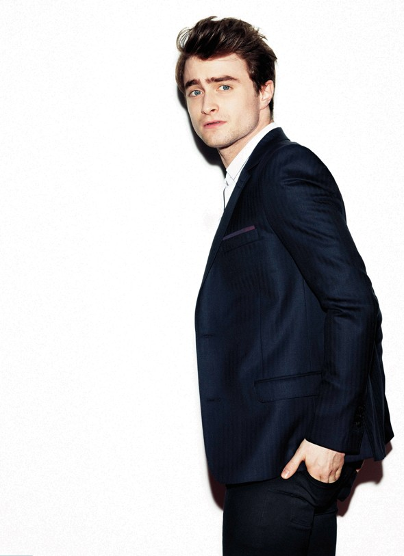 Daniel Radcliffe looks VERY good in Esquire magazine