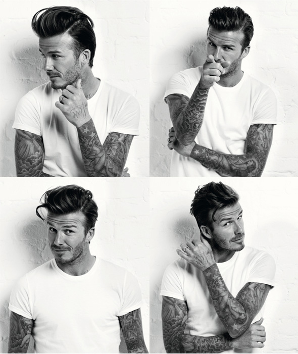 Peachy David Beckham Stars In 50S Style Photo Shoot For Mens Health Hairstyle Inspiration Daily Dogsangcom