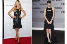 Battle of the cute cut-outs: Elle Macpherson vs Rooney Mara