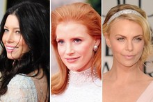 Beauty highlights from the Golden Globes 2012