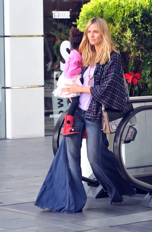 Hot or not: Heidi Klum's HUGE flares