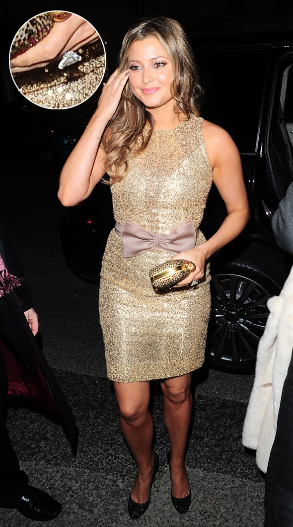 Holly Valance wears engagement ring to Radio Times party ...
