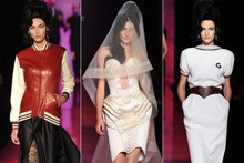 Jean Paul Gaultier pays tribute to Amy Winehouse with couture collection