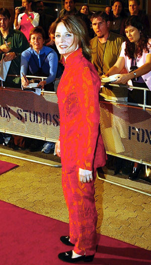 Panic Room premiere, Sydney, 2002