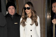 Kate Beckinsale channels Victoria Beckham