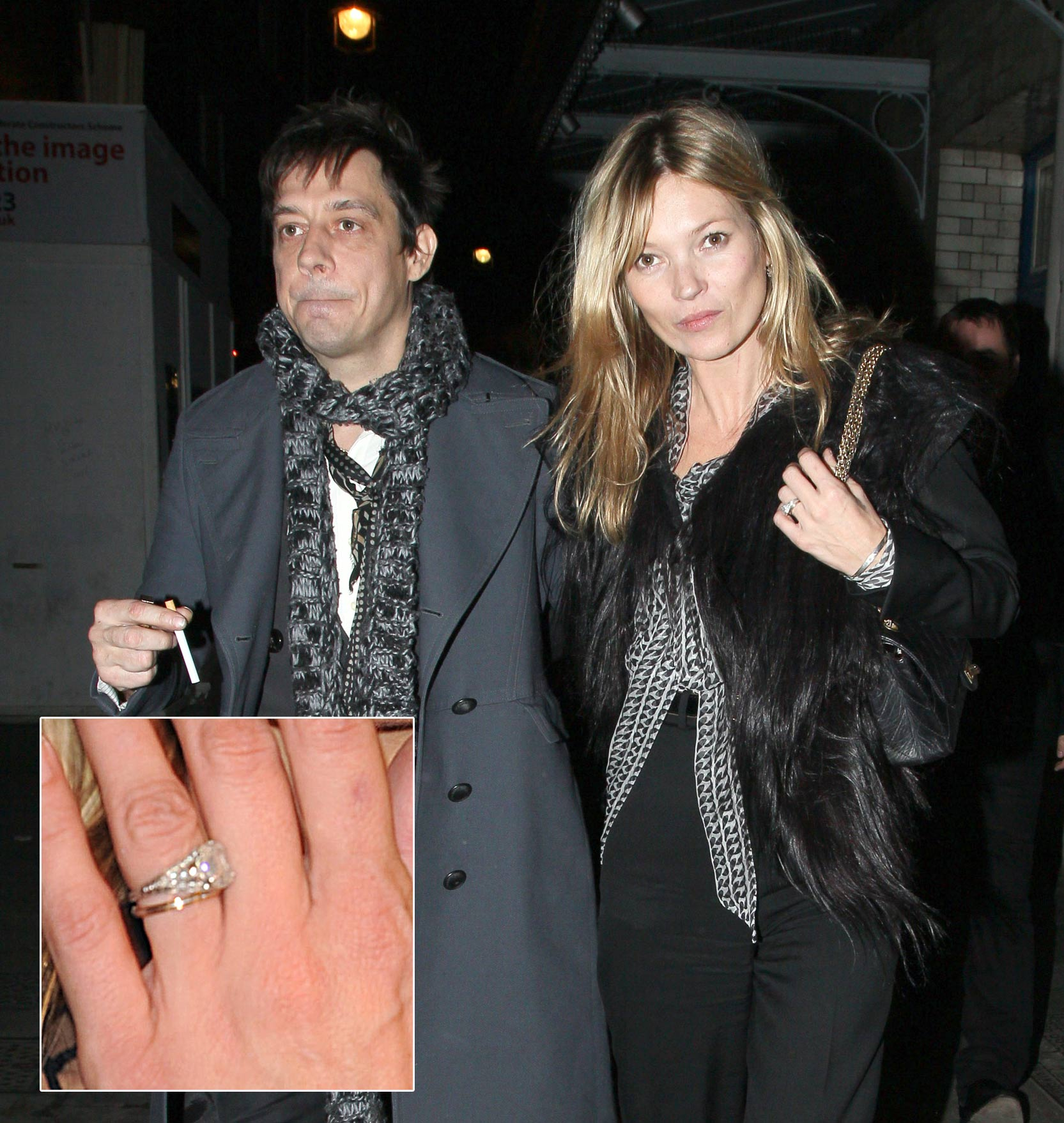 Kate Moss Wedding Ring Set