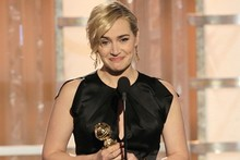 Golden Globes on-stage: Award winners and presenters