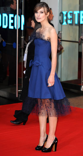The Duchess world premiere, London, 2008