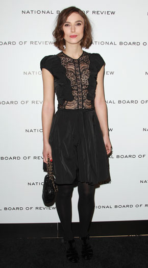 National Board of Review Awards Gala, New York, 2012