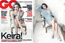 Keira Knightley strikes a sultry pose for GQ cover
