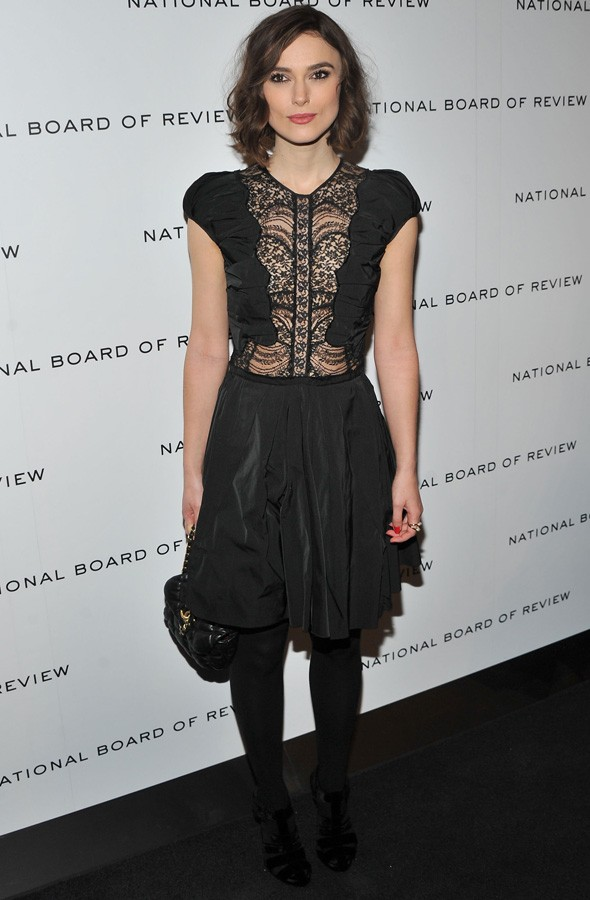 Keira Knightley at the National Board of Review Awards gala