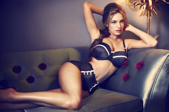 Kelly Brook for New Look lingerie