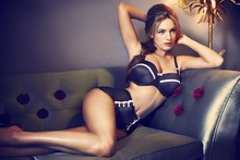 Kelly Brook creates (and models) lingerie collection for New Look