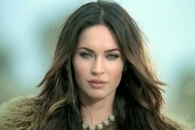 Megan Fox dons cave girl outfit to encourage South Americans to learn English