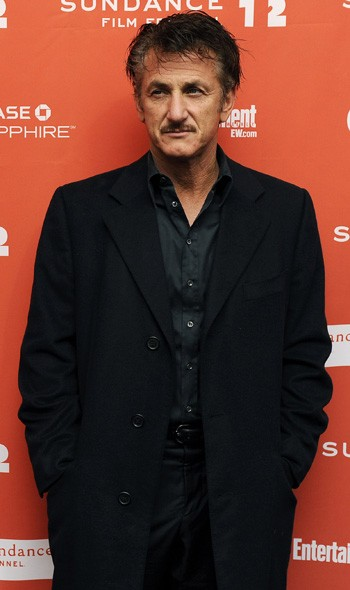 Sean Penn at the premiere of This Must Be The Place