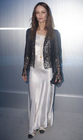 Vanessa Paradis at Chanel Couture