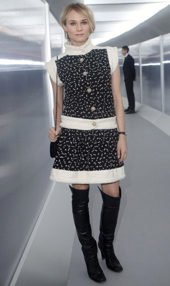 Diane Kruger at Chanel Couture