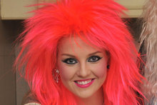 Guess who: Which Little Mix embraced her inner Toyah for New Year's Eve?