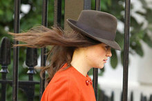 Hot or not: Pippa Middleton's gale-defying hat