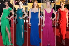 SAG Awards red carpet trend: All about the colour