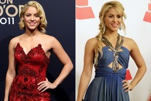 Beauty transformation: Shakira does Hollywood glam