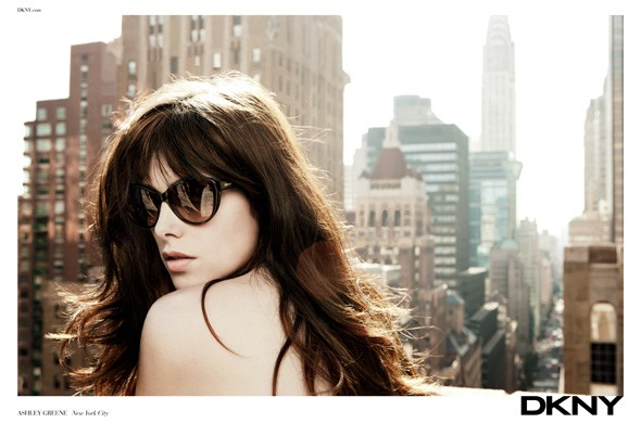 Ashley Greene for DKNY Spring/Summer 2012