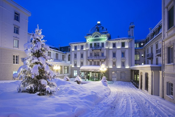 Grand Hotel Kronenhof, Switzerland
