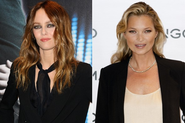 Do you think that Kate Moss and Vanessa Paradis look alike ...