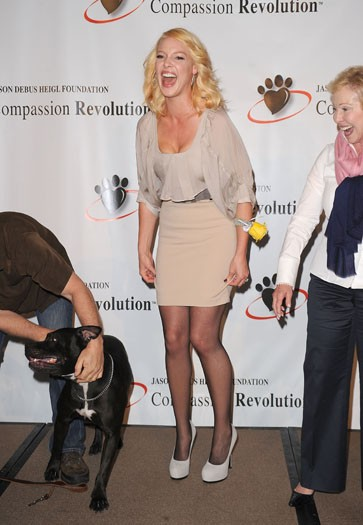 At the Jason Debus Heigl Foundation's Compassion Revolution press event