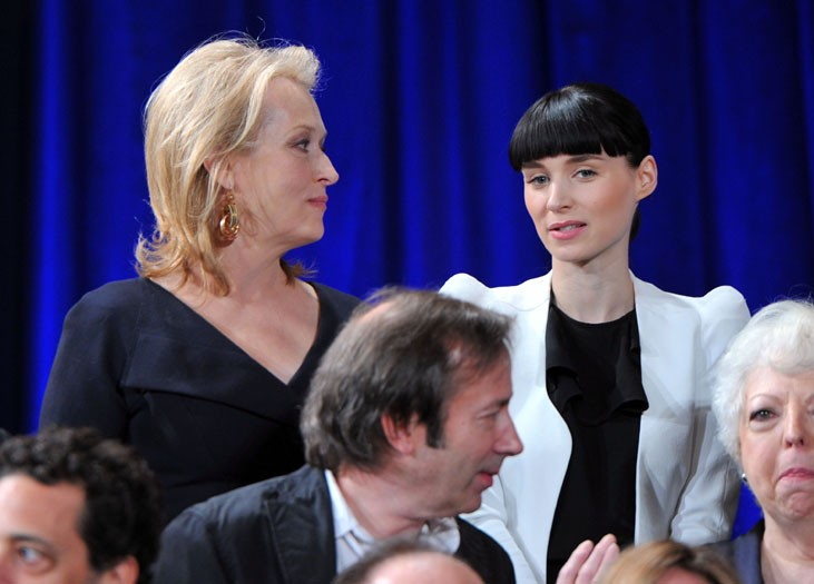 Meryl Streep and Rooney Mara