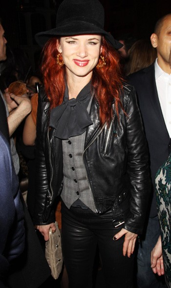 Juliette Lewis at the Warner Music party