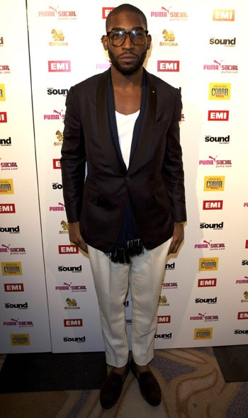 Tinie Tempah at the EMI party