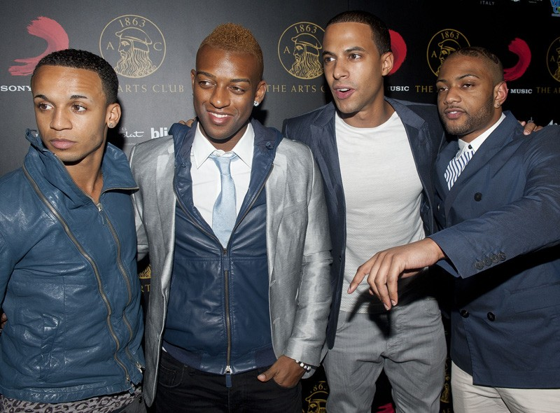 JLS at the Sony party