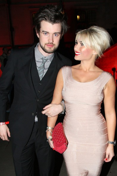 Jack Whitehall and Billie Faiers at the Sony party