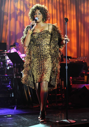 2009, performing at the Grammys