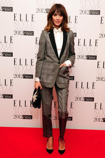 Alexa Chung in Stella McCartney