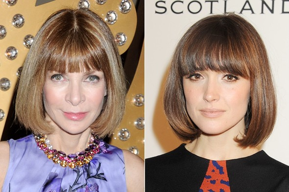 In Vogue: Has Rose Byrne stolen Anna Wintour's signature hairstyle?