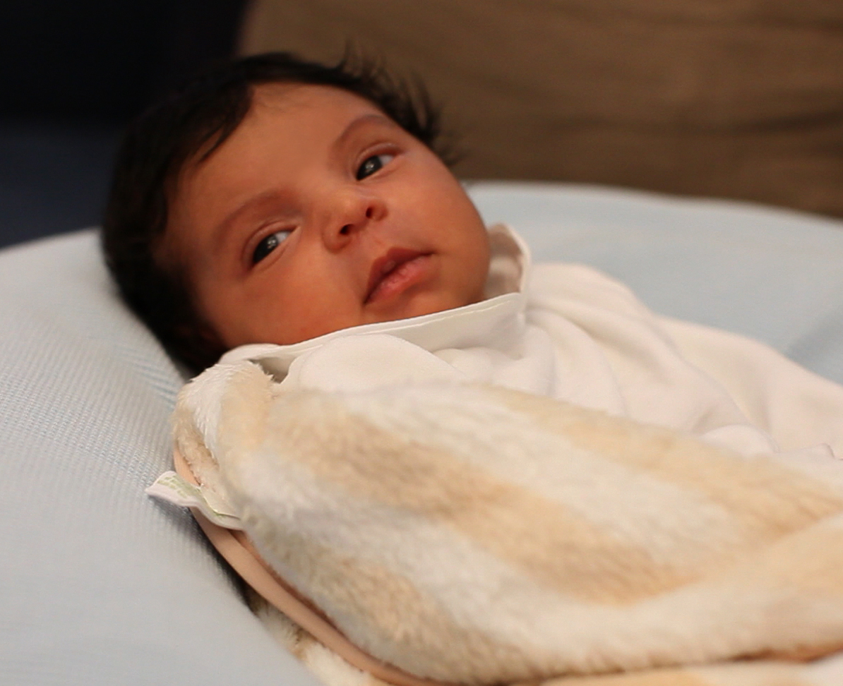 Blue Ivy awake