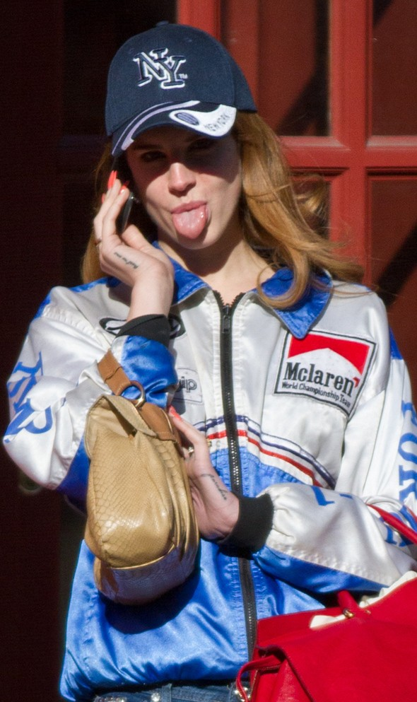 Start your engines! Lana Del Rey's pit stop chic