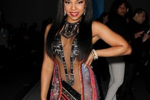 Hot or not? Ashanti's almost very revealing Egyptian dress