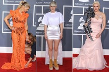 WTF vs OMG: The fashion faux pas of the Baftas and Grammys