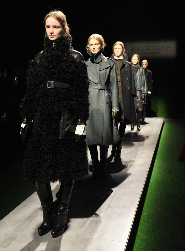 Belstaff Autumn/Winter 2012 collection. Photo:Getty