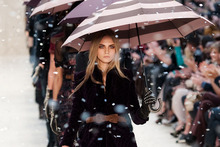 Bailey brings the rain at Burberry