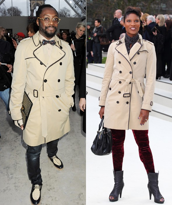 Fashion face off: Will.I.Am vs Denise Lewis at Burberry