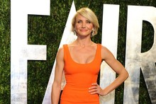 Hot or not: Cameron Diaz wears Victoria Beckham to Vanity Fair party