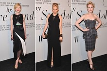 Blonde bombshells: Sienna Miller and Cate Blanchett party in New York